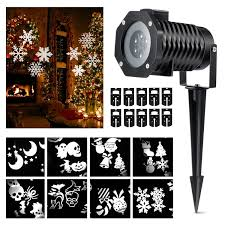 wall christmas light show halloween projector lights magicfly rotating projection led lights