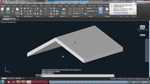Hip Roof Design Software by Creating Gable Roof In Autocad Youtube