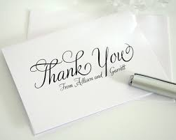 wedding gift note wedding gift thank you cards etiquette friendship wedding thank