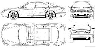 mazda xedos 9 the blueprints com blueprints u003e cars u003e mazda u003e mazda millenia