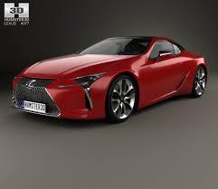 lexus 2017 lc500 lexus lc 500 2017 3d model hum3d