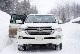 toyota land cruiser weathering snowstorms in a toyota land cruiser u2022 gear patrol