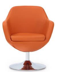 Orange Armchair Top 7 Orange Lounge Swivel Chairs In 2017