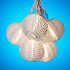 Chinese Lanterns String Lights by White Paper Lantern String Party Lights Best Paper Lantern String