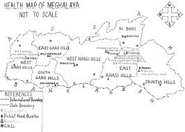 Health Map Department Of Health And Family Welfare Government Of Meghalaya