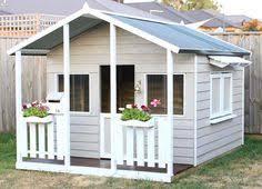 Backyard Playhouse Plans by Playhouse With Carport And Mailbox Backyard Playhouse Ideas