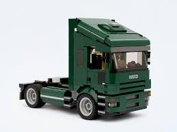 mini cooper lego iveco truck bricksafe