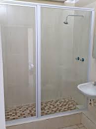 framed showers glass aluminium products u0026 services waverley