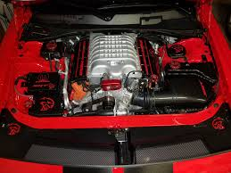 hellcat engine engine bay dress up srt hellcat forum
