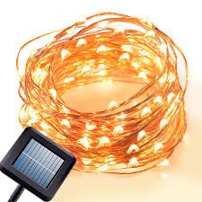 led decorative super bright string bulbs solar micro led string