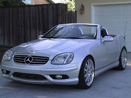 bagged mercedes benz slk gettinlow mercedes benz slk r170 visually modified by lumma tuning picture