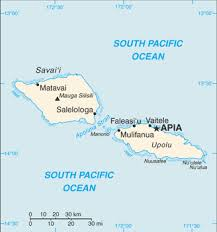 map samoa samoa map oceania map satellite city maps