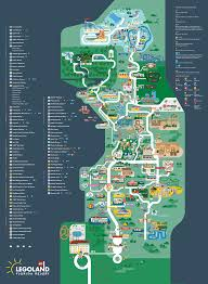 Disney Florida Map by Legoland Florida Map 2016 On Behance