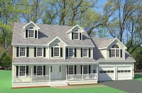 colonial home design farmers porch colonial home design westford house plans 68282