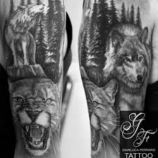 wolf with cover up gianluca ferraro artist flickr