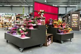 jardi leclerc mobilier standard présentation fleuristerie