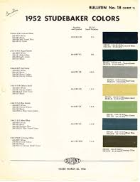 1952 studebaker colors design pinterest car stuff and cars