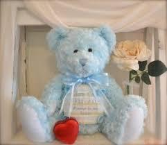 baby urns baby blue teddy cremation urn premium urns