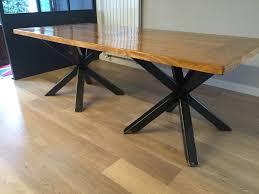 Table Repas Style Industriel by Decoration Sur Table Salle A Manger Buffet Vaisselier Ou Enfilade