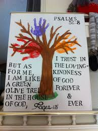 why do christians celebrate thanksgiving handprint tree with bible verse for kids to do we did it for our