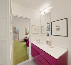 pink bathroom bathroom traditional with metro tile bathroom wooden