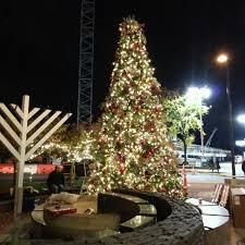 robert dyer bethesda row bethesda row christmas trees menorah