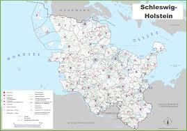 Printable Map Of Germany by Schleswig Holstein Maps Germany Maps Of Schleswig Holstein