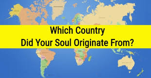 which country did your soul originate from quizdoo