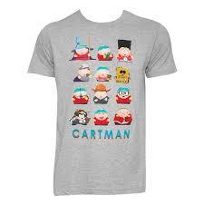 Cartman Halloween Costume South Park Men U0027s Grey Costumes Cartman Shirt Tvmoviedepot