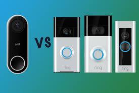 nest hello vs ring video doorbell vs doorbell 2 vs doorbell pro