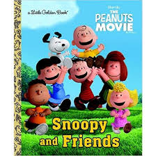 snoopy and friends golden books the peanuts