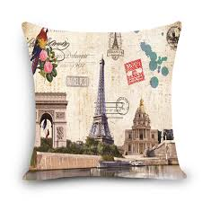 Chair Cushion Covers Compare Prices On Paris Decorative Pillows Online Shopping Buy