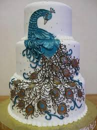 wedding cake styles at all peacock style wedding cakes