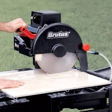 Tile Cutter Rental Lowes by Qep 61024 24 Inch Brutus Professional Tile Saw With Water Pump And