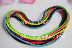 elastic headband 50cm telephone cord hair elastic hair scrunchies ponytail