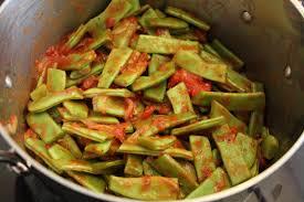 comment cuisiner les haricots plats haricots plats à la tomate la fée stéphanie