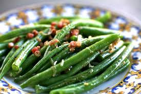 green bean thanksgiving recipes green beans with shallots and pancetta recipe simplyrecipes com