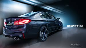 bmw m5 modified 2018 bmw m5 realistically rendered based on leaks