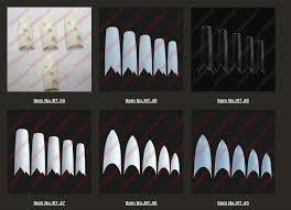 fashional fake nail artificial fingernails decorated nail tips nt