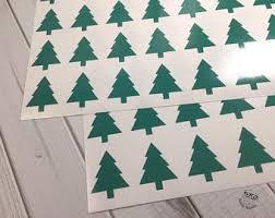 tree stickers etsy