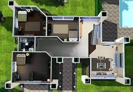floor plans for sims 3 modern mansion floor plans architectural features of modern home