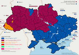 Midterm Election Map by Analyzing Ukrainian Elections Part 1 The Politikal Blog