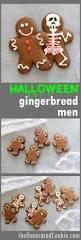 halloween gingerbread man with anatomy scary halloween cookies