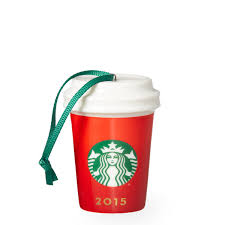 cup ornament starbucks ornament and cups