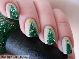 26 awe inspiring christmas nail tutorials to bedazzle the festival