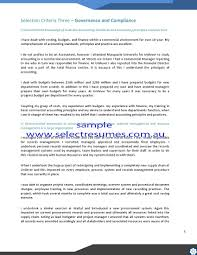 Resume For Supply Chain Executive Resume And Selection Criteria Writers Resume For Your Job