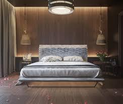 eclairage de chambre eclairage chambre a coucher 0 mur en bois pour une d233co