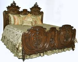French Louis Bedroom Furniture by Antique French King Size Louis Xv Walnut Bed Antique Bedroom