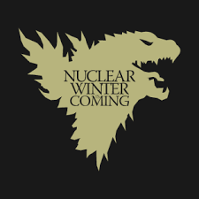 nuclear winter is coming t shirts teepublic