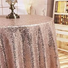 tablecloth for 48 round table amazon com diameter 48 round rose gold sequin tablecloths rose